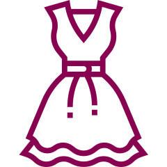 Dress size charts
