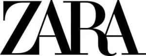 Size chart Zara