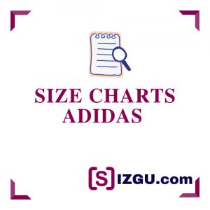 Size Charts Adidas