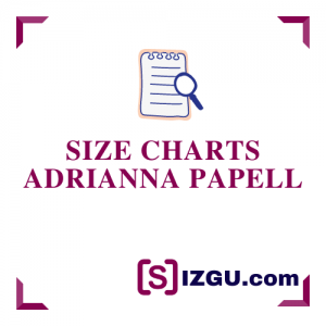 Size Charts Adrianna Papell