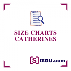 Size Charts Catherines