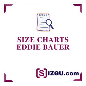 Size Charts Eddie Bauer