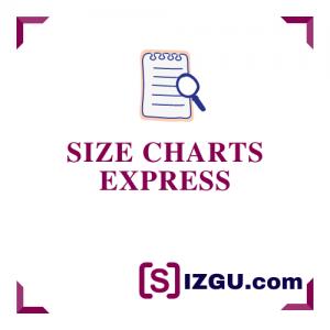 Size Charts Express