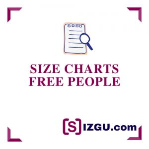 Size Charts Free People