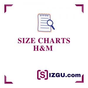 Size Charts H&M
