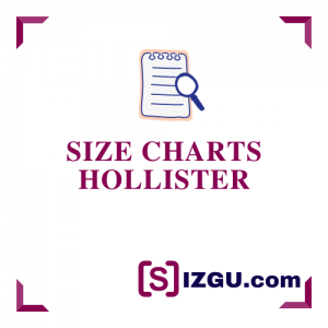 Size Charts Hollister
