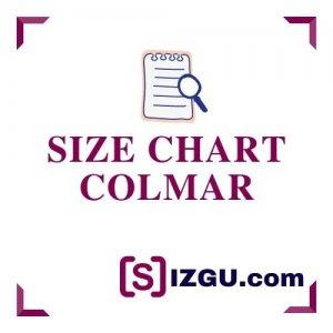 Size chart Colmar