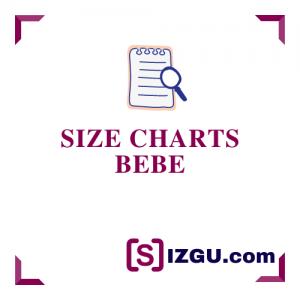 Size charts bebe