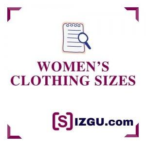 Women's clothing sizes