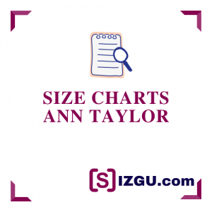 Size Charts Ann Taylor