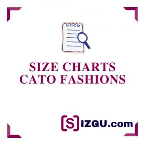Size Charts Cato Fashions