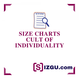 Size Charts Cult of Individuality