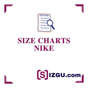 Size Charts Nike