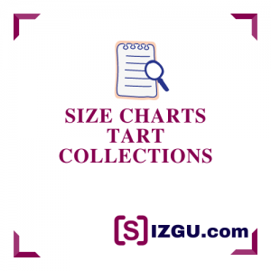 Size Charts Tart Collections