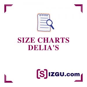 Size Charts dELiA's