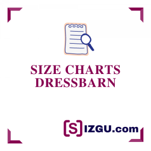 Size Charts dressbarn