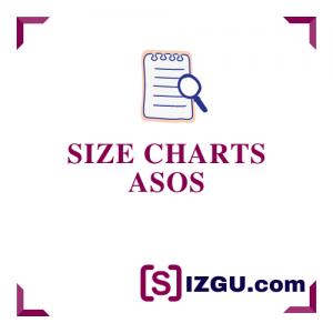 Size Charts ASOS