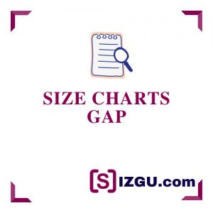 Size Charts Gap