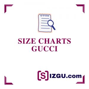 Size Charts Gucci