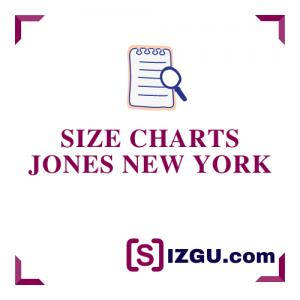 Size Charts Jones New York