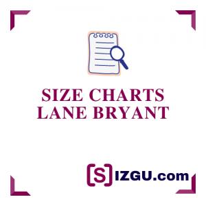 Size Charts Lane Bryant