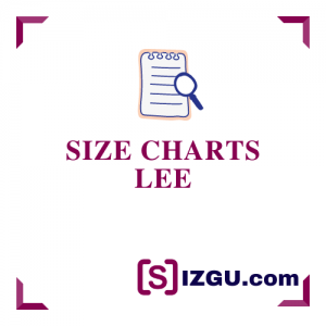 Size Charts Lee