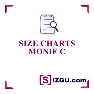 Size Charts Monif C