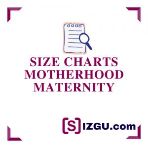 Size Charts Motherhood Maternity