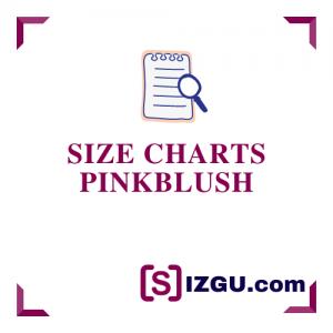 Size Charts PinkBlush
