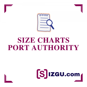 Size Charts Port Authority