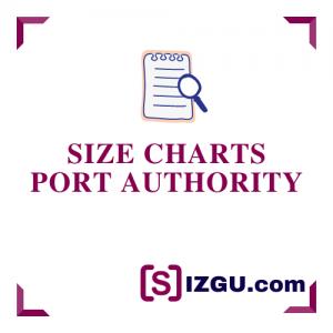 Size Charts Port Authority