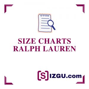 Size Charts Ralph Lauren