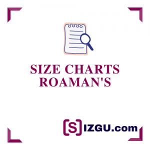 Size Charts Roaman's