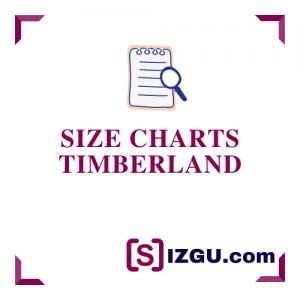 Size Charts Timberland