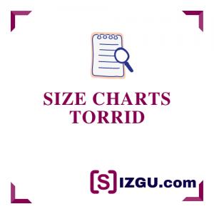 Size Charts Torrid