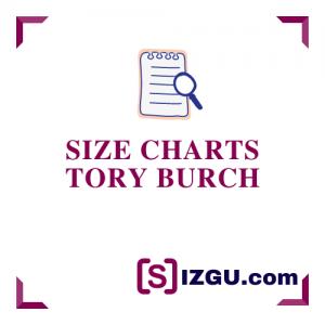 Size Charts Tory Burch