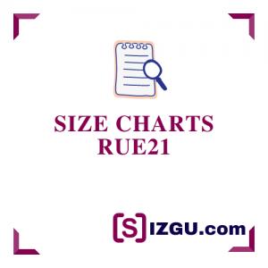 Size Charts rue21