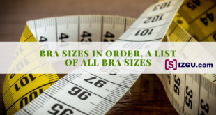 Bra Sizes in Order, a List of All Bra Sizes
