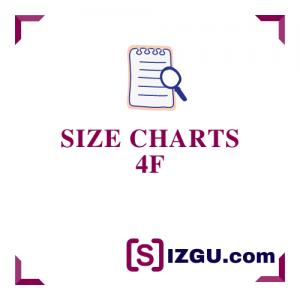 Size Charts 4F