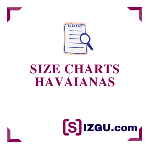 Size Charts Havaianas