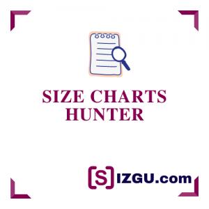 Size Charts Hunter