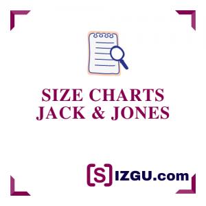 Size Charts Jack & Jones