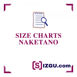 Size Charts Naketano