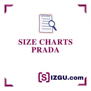 Size Charts Prada