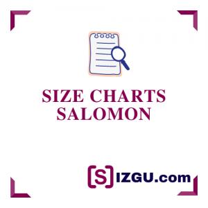 Size Charts Salomon