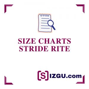 Size Charts Stride Rite